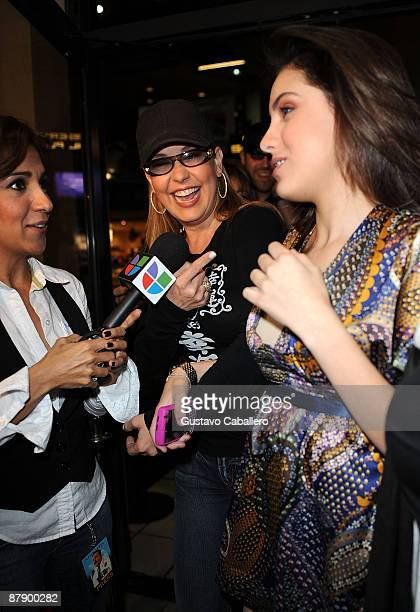 Personality Myrka Dellanos and daughter Alexa Dellanos attends the premiere of Kevin James 'Paul Blart Mall Cop' at AMC Sunset Mall on January 8 2009...