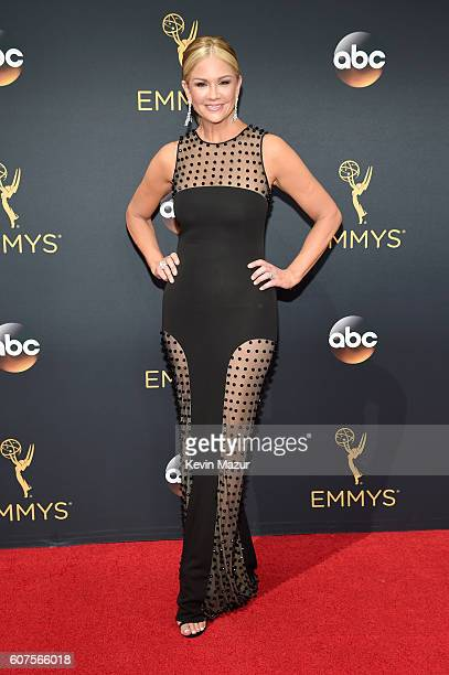 TV personality Nancy O'Dell attends the 68th Annual Primetime Emmy Awards at Microsoft Theater on September 18 2016 in Los Angeles California