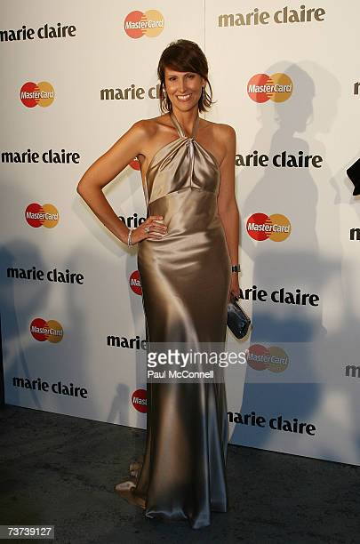 TV personality Natalie Barr attends the 2007 Prix De Marie Claire Awards at the White Bay Studios Rozelle on March 29 2007 in Sydney Australia The...