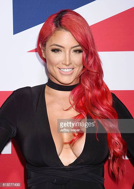 Tv Personality Natalie Eva Marie Attends The Premiere Of Focus Features London Has Fallen