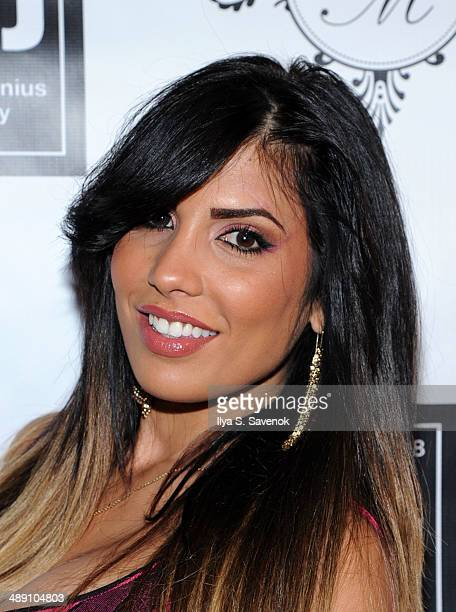 TV personality Natalie Guercio attends Alex Martin's 40 And Fly Birthday Celebration at The Bowery Hotel on May 9 2014 in New York City