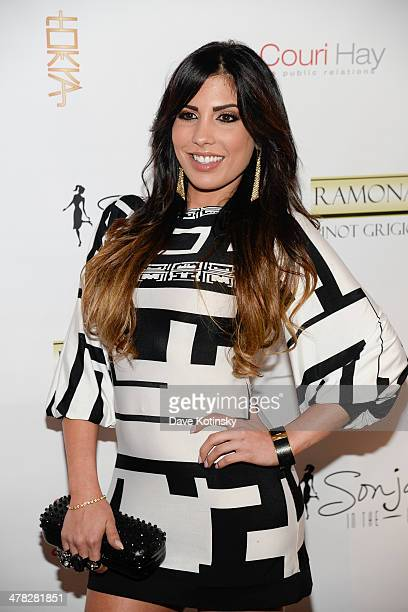 Personality Natalie Guercio attends attends the 'The Real Housewives Of New York City' season six premiere party at Tokya on March 12, 2014 in New...