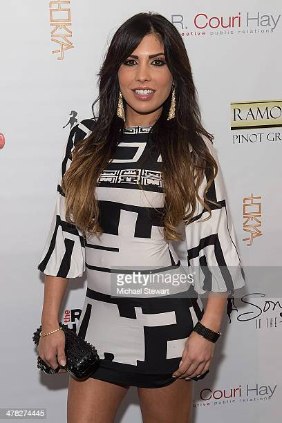 "Personality Natalie Guercio attends the ""The Real Housewives Of New York City"" season six premiere party at Tokya on March 12, 2014 in New York City."