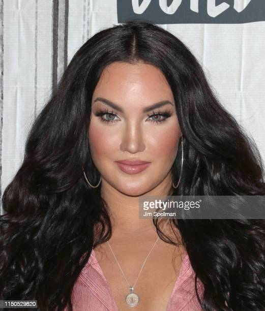 """Personality Natalie Halcro attends the Build Series to discuss """"Relatively Nat & Liv"""" at Build Studio on May 20, 2019 in New York City."""