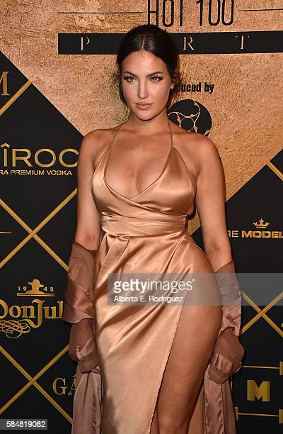 Personality Natalie Halcro attends the Maxim Hot 100 Party at the Hollywood Palladium on July 30, 2016 in Los Angeles, California.