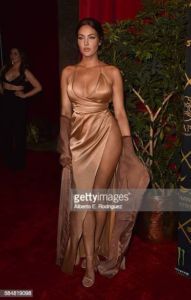 TV personality Natalie Halcro attends the Maxim Hot 100 Party at the Hollywood Palladium on July 30 2016 in Los Angeles California