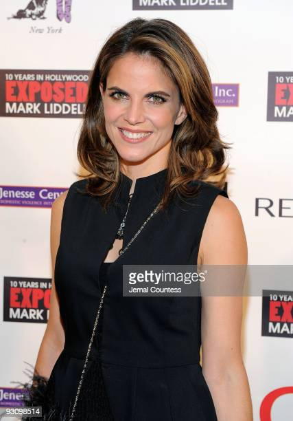 TV personality Natalie Morales attends An Evening of Awareness to benefit the Jenesse Center and the Trevor Project hosted by Halle Berry and Mark...