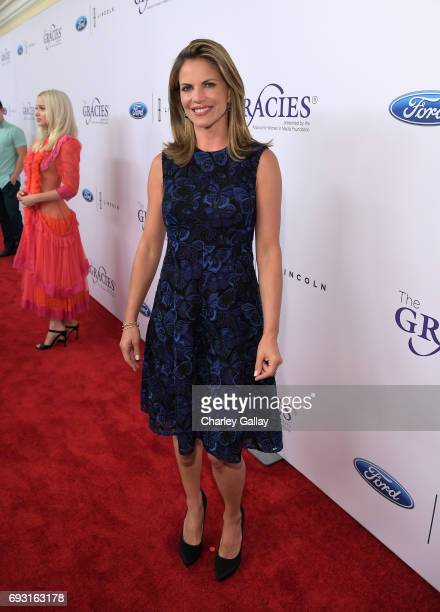 TV personality Natalie Morales attends the 42nd Annual Gracie Awards Gala hosted by The Alliance for Women in Media at the Beverly Wilshire Hotel on...
