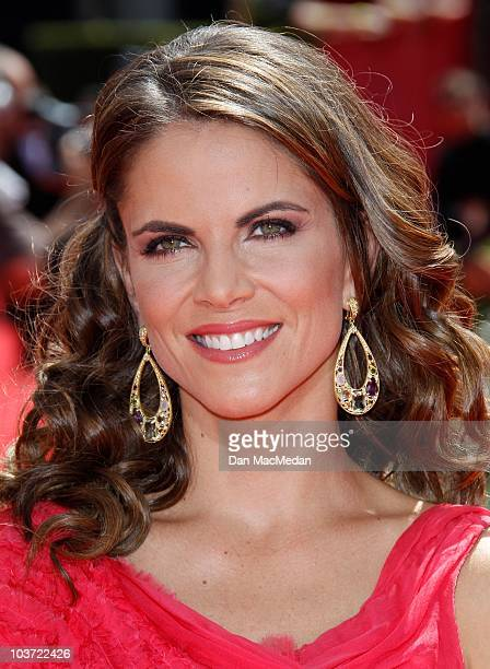 Personality Natalie Morales attends the 62nd Annual Primetime Emmy Awards at Nokia Theatre Live L.A. On August 29, 2010 in Los Angeles, California.