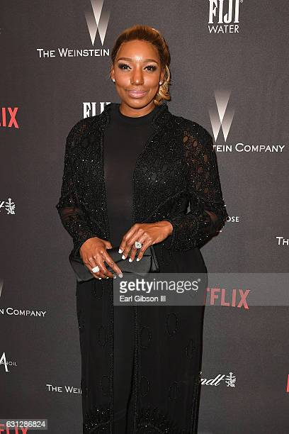TV personality NeNe Leakes attends The Weinstein Company and Netflix Golden Globe Party presented with FIJI Water Grey Goose Vodka Lindt Chocolate...