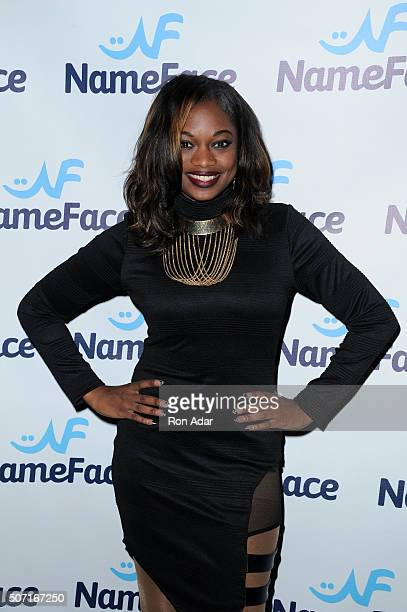TV personality Nic FoReel attends the NameFacecom launch at No 8 on January 27 2016 in New York City