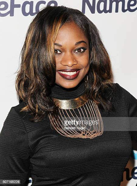 TV personality Nic FoReel attends the NameFacecom launch party at No 8 on January 27 2016 in New York City