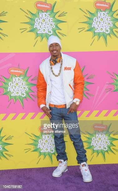 TV personality Nick Cannon arrives at Nickelodeon's 26th Annual Kids' Choice Awards at USC Galen Center in Los Angeles USA on 23 March 2013 Photo...