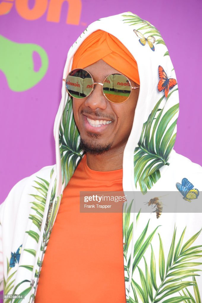 TV personality Nick Cannon attends Nickelodeon Kids' Choice Sports Awards 2017 at Pauley Pavilion on July 13, 2017 in Los Angeles, California.