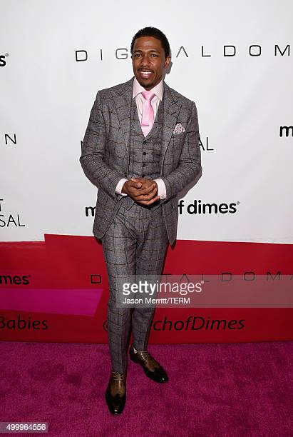 Personality Nick Cannon attends the 2015 March Of Dimes Celebration Of Babies at the Beverly Wilshire Four Seasons Hotel on December 4, 2015 in...