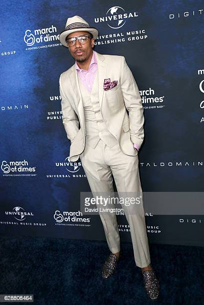TV personality Nick Cannon attends the 2016 March of Dimes Celebration of Babies at the Beverly Wilshire Four Seasons Hotel on December 9 2016 in...