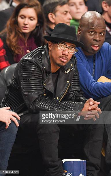 Personality Nick Cannon attends the 2016 NBA AllStar Game at Air Canada Centre on February 14 2016 in Toronto Canada