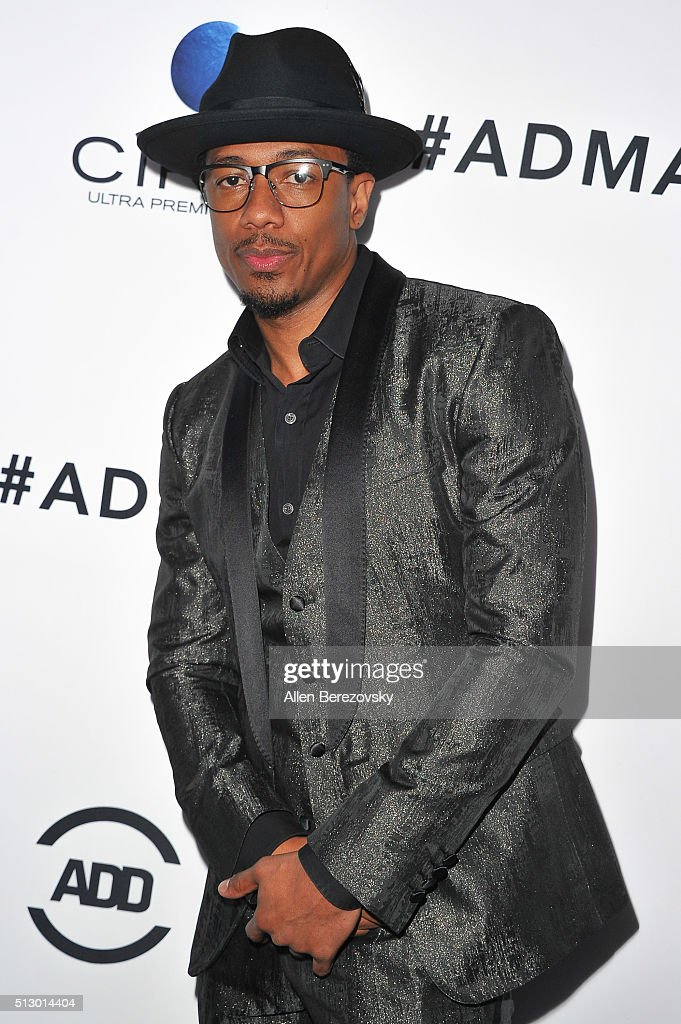 TV personality Nick Cannon attends the All Def Movie Awards at Lure Nightclub on February 24, 2016 in Los Angeles, California.