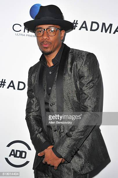 TV personality Nick Cannon attends the All Def Movie Awards at Lure Nightclub on February 24 2016 in Los Angeles California