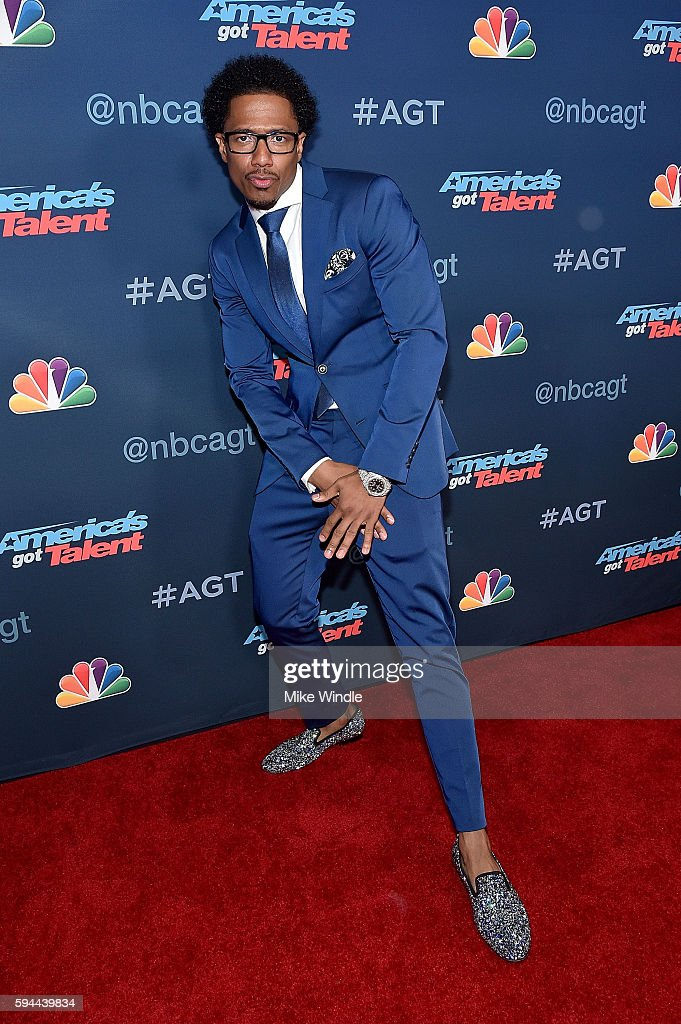 TV Personality Nick Cannon attends the 'America's Got Talent' Season 11 Live Show at Dolby Theatre on August 23, 2016 in Hollywood, California.