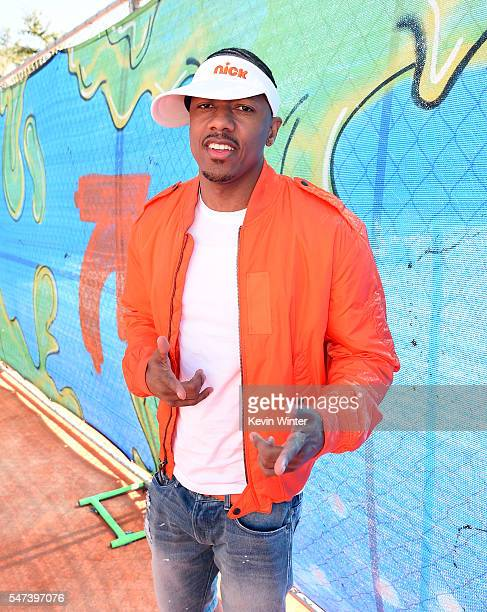 TV personality Nick Cannon attends the Nickelodeon Kids' Choice Sports Awards 2016 at UCLA's Pauley Pavilion on July 14 2016 in Westwood California