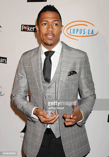 TV personality Nick Cannon attends the Stars Get Lucky For Lupus 6th Annual Poker Tournament at Avalon on September 18 2014 in Hollywood California