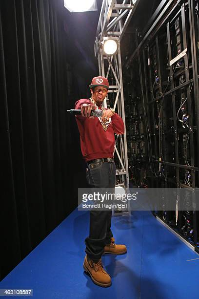TV personality Nick Cannon visits 106 Park at BET studio on January 16 2014 in New York City