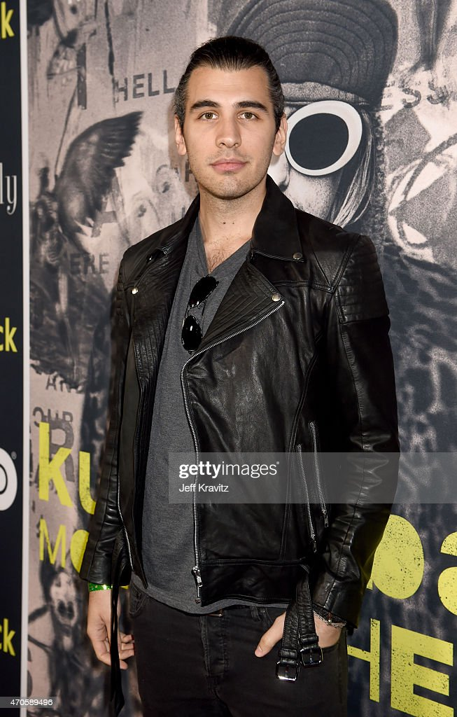 TV personality Nick Simmons attends HBO's 'Kurt Cobain: Montage Of Heck' Los Angeles Premiere at the Egyptian Theatre on April 21, 2015 in Hollywood, California.