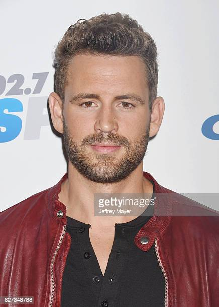 TV personality Nick Viall attends 1027 KIIS FM's Jingle Ball 2016 at Staples Center on December 2 2016 in Los Angeles California