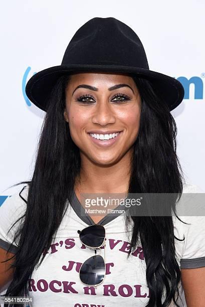 TV personality Nicole Alexander visits SiriusXM Studio on July 28 2016 in New York City