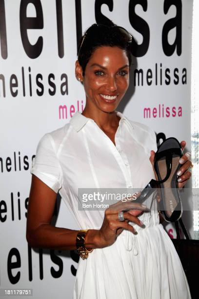 Personality Nicole Murphy attends Kari Feinstein's Pre-Emmy Style Lounge at the Andaz Hotel on September 19, 2013 in Los Angeles, California.