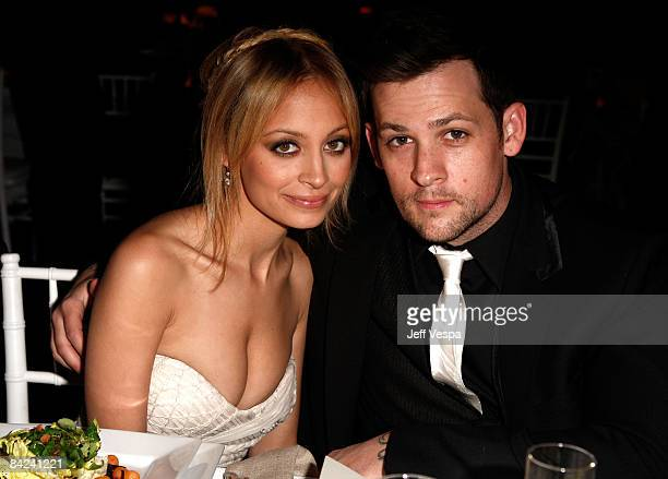 TV personality Nicole Richie and musician Joel Madden attend the Art of Elysium 2nd Annual Heaven Gala held at Vibiana on January 10 2009 in Los...