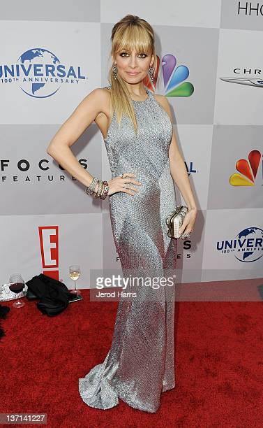 TV personality Nicole Richie arrives at NBCUniversal's 69th Annual Golden Globes Viewing and After Party Sponsored By Chrysler and Hilton held at The...