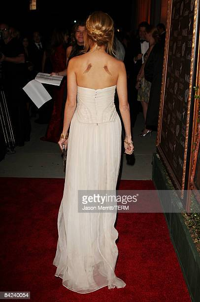 TV personality Nicole Richie arrives at the Art Of Elysium's 2nd annual Heaven Gala held at Vibiana on January 10 2008 in Los Angeles California