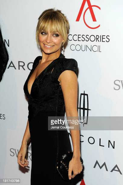 TV personality Nicole Richie attends Accessories Council 15th Annual ACE Awards at Cipriani 42nd Street on November 7 2011 in New York City