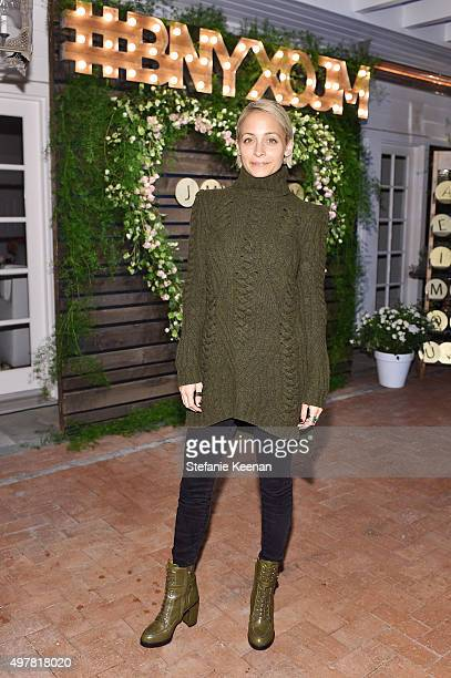Personality Nicole Richie attends Barneys New York Jennifer Aniston and Tobey Maguire host a private dinner to celebrate The Barneys New York XO...