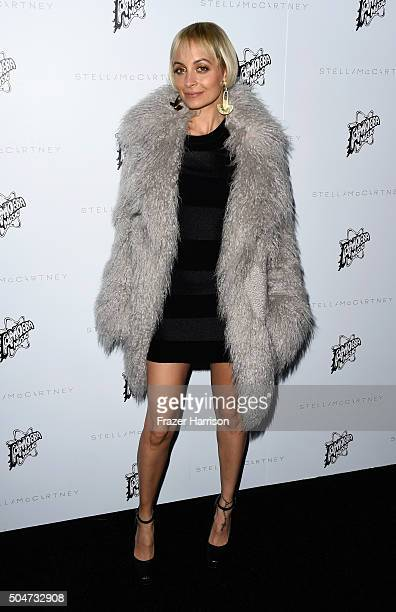 TV personality Nicole Richie attends Stella McCartney Autumn 2016 Presentation at Amoeba Music on January 12 2016 in Los Angeles California