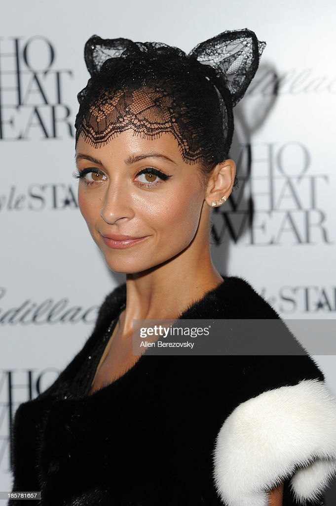 TV personality Nicole Richie attends the Who What Wear and Cadillac's 50 Most Fashionable Women of 2013 event at The London Hotel on October 24, 2013 in West Hollywood, California.