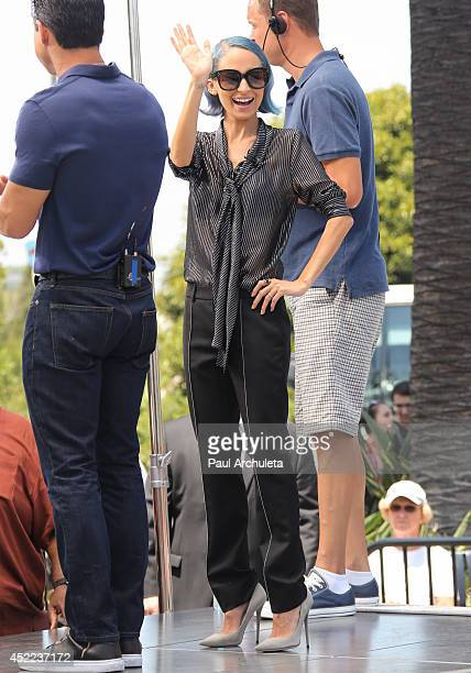 Personality Nicole Richie is seen in Los Angeles on July 16 2014 in Los Angeles California