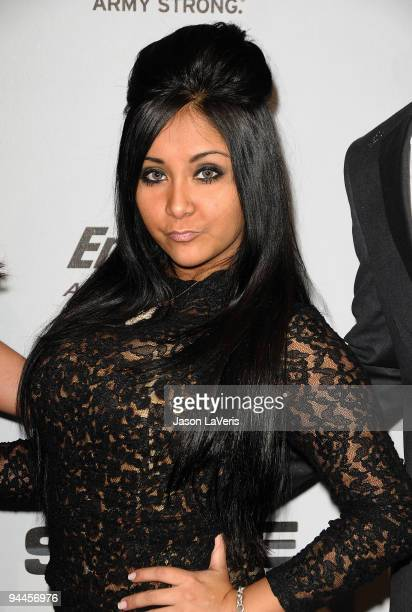 TV personality Nicole SNOOKI Polizzi attends Spike TV's 7th annual Video Game Awards at Nokia Theatre LA Live on December 12 2009 in Los Angeles...