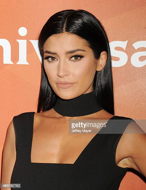 Personality Nicole Williams attends the NBCUniversal press tour 2015 at the Beverly Hilton Hotel on August 12, 2015 in Beverly Hills, California.