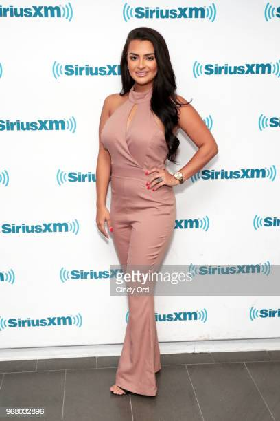 TV personality Nilsa Prowant visits the SiriusXM Studios on June 5 2018 in New York City