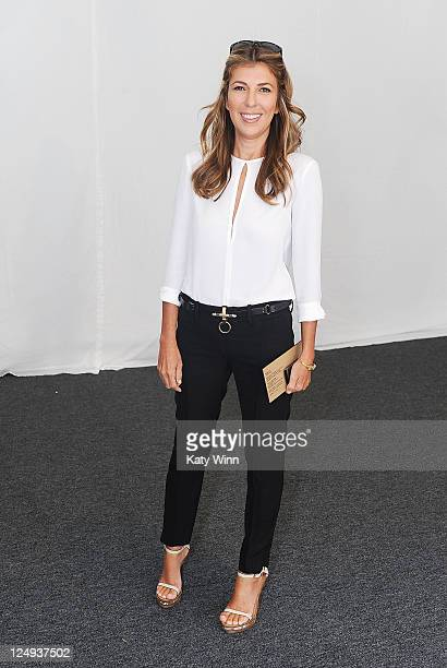 TV personality Nina Garcia seen around Lincoln Center during Spring 2012 MercedesBenz Fashion Week on September 14 2011 in New York City