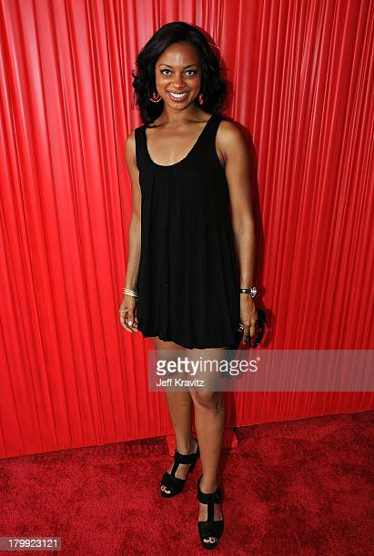 TV Personality Nischelle Turner arrives at the 2008 BET Awards at the Shrine Auditorium on June 24 2008 in Los Angeles California