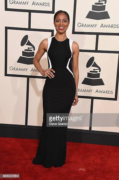 TV personality Nischelle Turner attends The 57th Annual GRAMMY Awards at the STAPLES Center on February 8 2015 in Los Angeles California