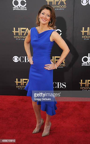 TV personality Norah O'Donnell arrives at the 18th Annual Hollywood Film Awards at The Palladium on November 14 2014 in Hollywood California