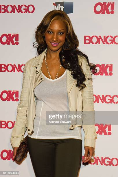 TV personality Olivia Longott attends OK Magazine's Sexy Singles party at Lavo NYC on April 20 2011 in New York City