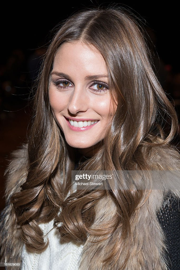 TV personality Olivia Palermo attends Philosophy By Natalie Ratabesi during fall 2013 Mercedes-Benz Fashion Week on February 13, 2013 in New York City.