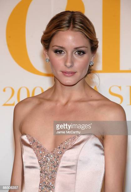 Personality Olivia Palermo attends the 2009 CFDA Fashion Awards at Alice Tully Hall Lincoln Center on June 15 2009 in New York City