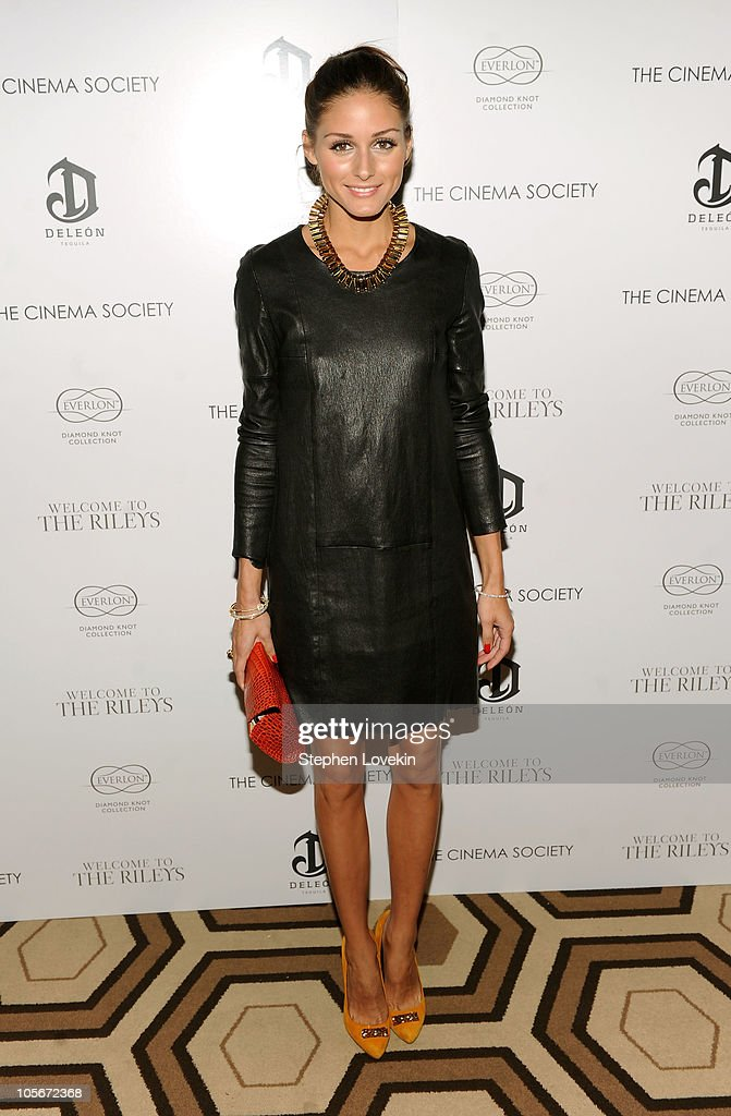 TV personality Olivia Palermo attends The Cinema Society & Everlon Diamond Knot Collection's screening of 'Welcome To The Rileys' on October 18, 2010 at the Tribeca Grand Hotel in New York City.